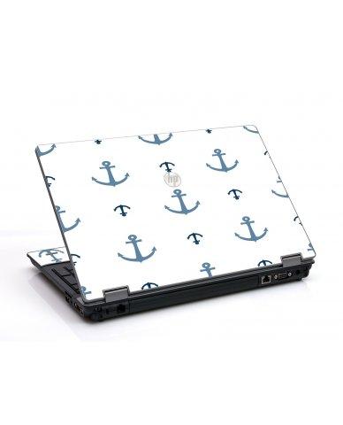 Multi Blue Anchors HP ProBook 6455B Laptop Skin
