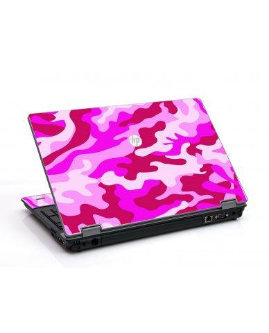 Pink Camo HP ProBook 6455B Laptop Skin