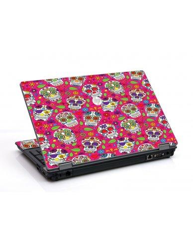 Pink Sugar Skulls HP ProBook 6455B Laptop Skin