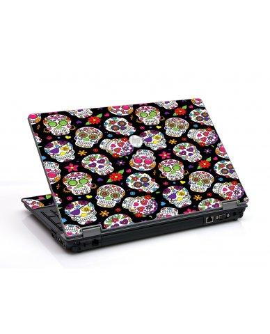 Sugar Skulls HP ProBook 6455B Laptop Skin