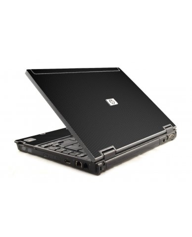 Black Carbon Fiber HP Compaq 6910P Laptop Skin