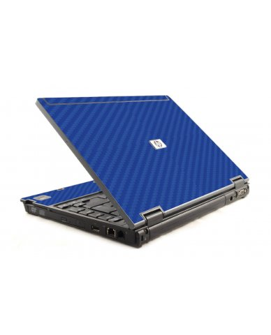 Blue Carbon Fiber HP Compaq 6910P Laptop Skin