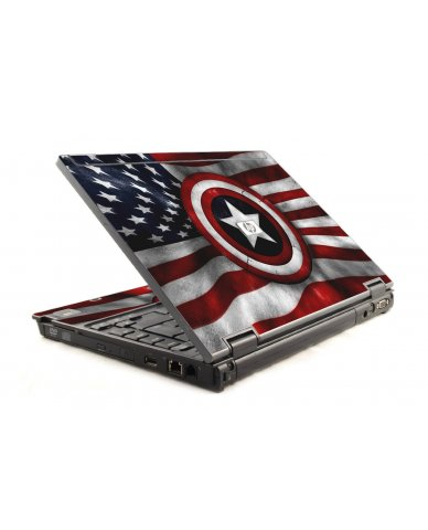 Capt America Flag HP Compaq 6910P Laptop Skin