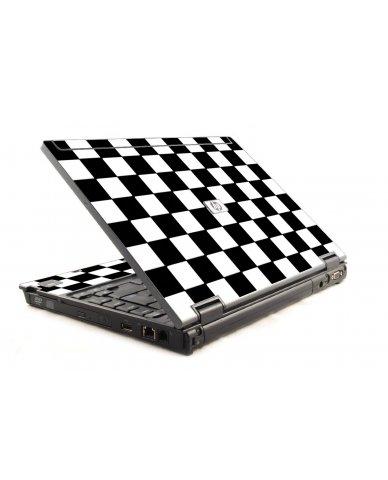 Checkered HP Compaq 6910P Laptop Skin