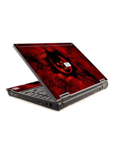 Dark Skull HP Compaq 6910P Laptop Skin
