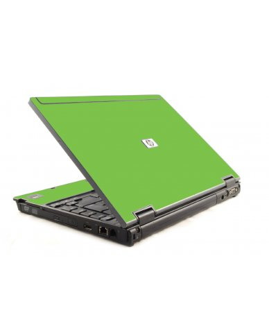 Green HP Compaq 6910P Laptop Skin