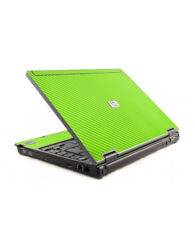 Green Carbon Fiber HP Compaq 6910P Laptop Skin
