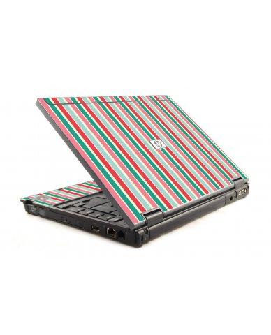 Gum Stripes HP Compaq 6910P Laptop Skin