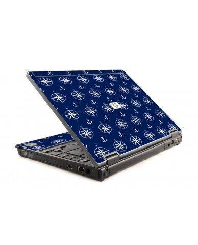 Nautical Anchors HP Compaq 6910P Laptop Skin