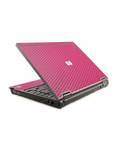 Pink Carbon Fiber HP Compaq 6910P Laptop Skin