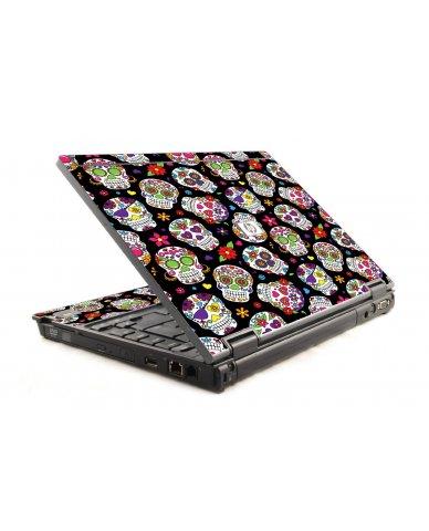 Sugar Skulls HP Compaq 6910P Laptop Skin