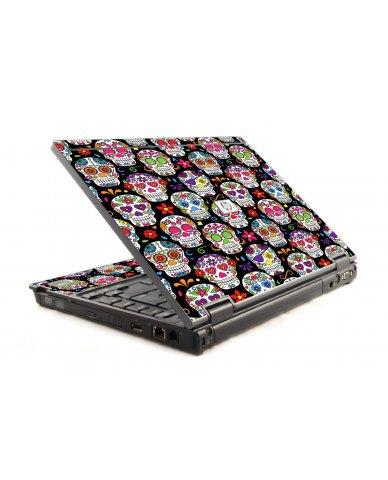 Sugar Skulls Seven HP Compaq 6910P Laptop Skin