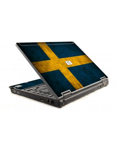 Swedish Flag HP Compaq 6910P Laptop Skin