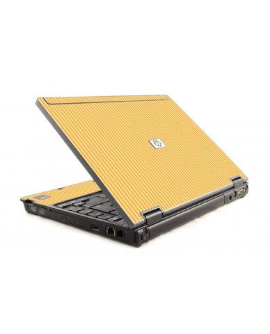 Warm Stripes HP Compaq 6910P Laptop Skin