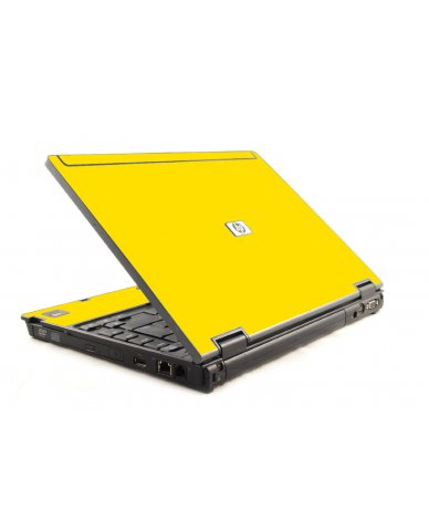 Yellow HP Compaq 6910P Laptop Skin