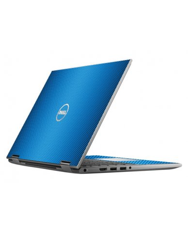BLUE TEXTURED CARBON FIBER DELL INSPIRON 5368 SKIN
