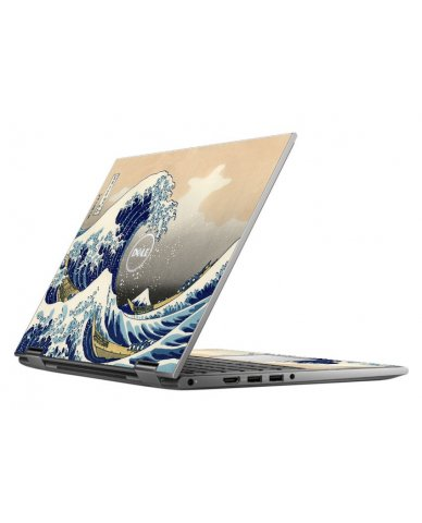 GREAT WAVE DELL INSPIRON 5368 SKIN