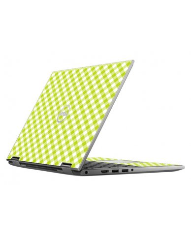 GREEN CHECKERED DELL INSPIRON 5368 SKIN