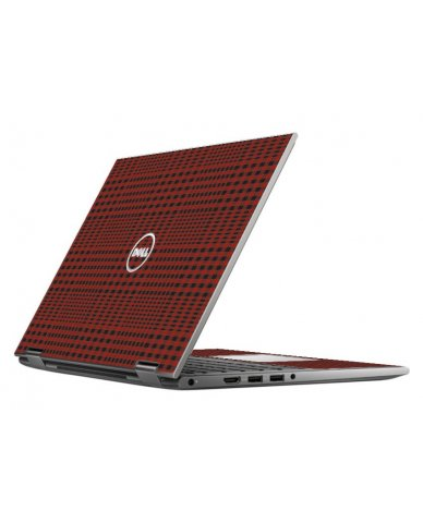 RED FLANNEL DELL INSPIRON 5368 SKIN