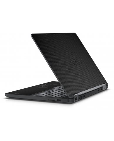 BLACK TEXTURED CARBON FIBER DELL LATITUDE E5550 SKIN