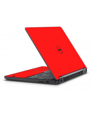 RED DELL LATITUDE E5550 SKIN