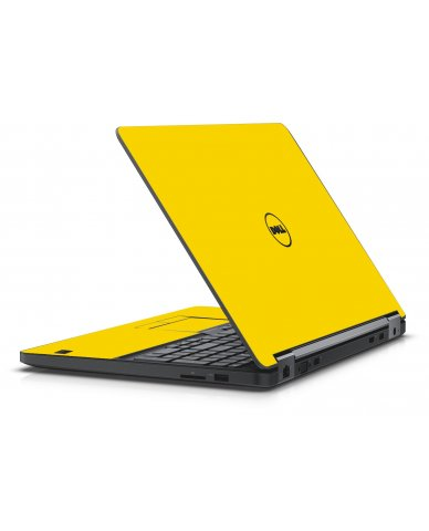 YELLOW DELL LATITUDE E5550 SKIN