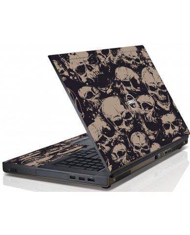 GRUNGE SKULLS Dell Precision M4800 Laptop Skin