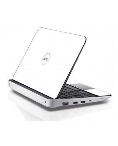 WHITE Dell Inspiron Mini 10 1012 Skin