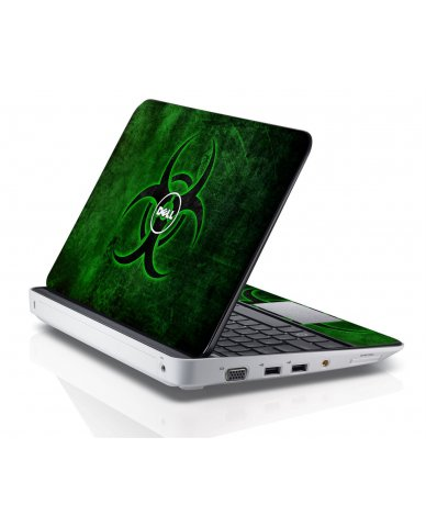 GREEN BIOHAZARD Dell Inspiron Mini 10 1018 Skin