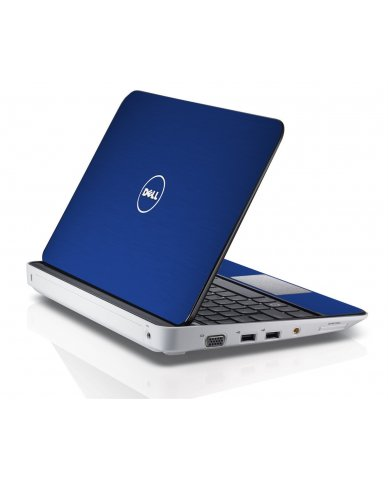 MTSBLUE TEXTURED ALUMINUM Dell Inspiron Mini 10 1018 Skin