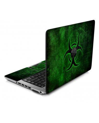 GREEN BIOHAZARD HP ProBook 450 G1 G2 G3 Skin