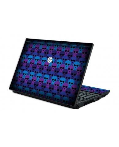 BLUE SKULLS HP ProBook 4520S Skin