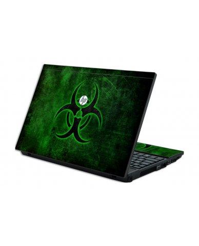 GREEN BIOHAZARD HP ProBook 4520S Skin
