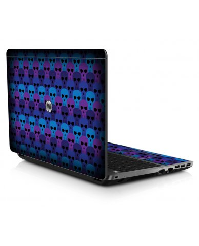 BLUE SKULLS HP ProBook 4545S Skin