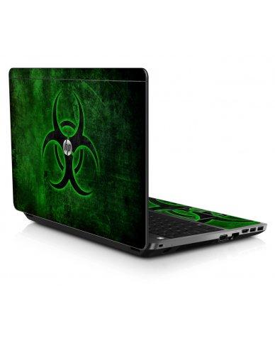 GREEN BIOHAZARD HP ProBook 4545S Skin