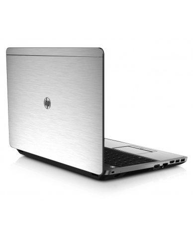 MTS#1 TEXTURED ALUMINUM HP ProBook 4545S Skin