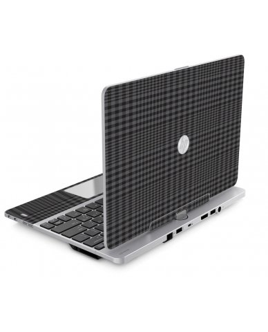 BLACK PLAID HP EliteBook Revolve 810 G1 G2 G3 Skin