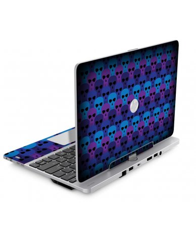 BLUE SKULLS HP EliteBook Revolve 810 G1 G2 G3 Skin