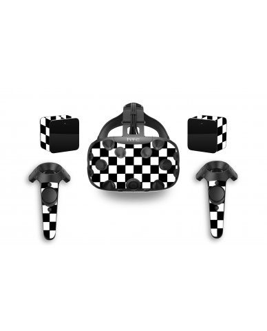 CHECKERED HTC VIVE VR SKIN