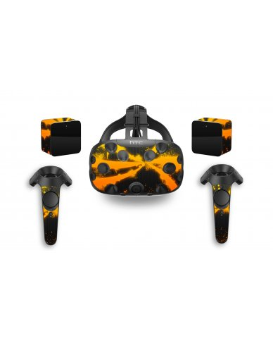 ORANGE TWIST HTC VIVE VR SKIN