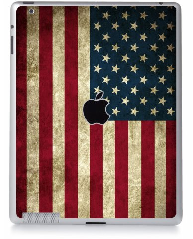 AMERICAN FLAG Apple iPad 2 A1395 SKIN