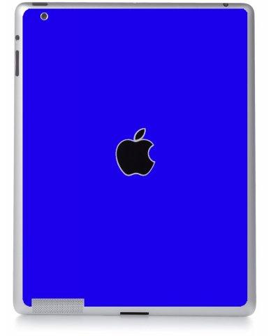 BLUE Apple iPad 2 A1395 SKIN