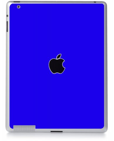 BLUE Apple iPad 3 A1416 SKIN