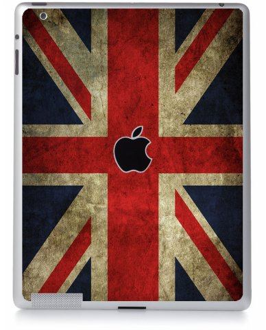 BRITISH FLAG Apple iPad 2 A1395 SKIN