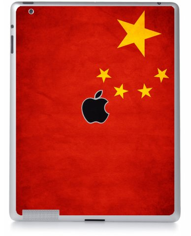 CHINESE FLAG Apple iPad 3 A1416 SKIN