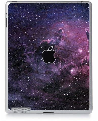 Purple Nebula and Cosmic Dust Apple iPad 4 A1458 Skin