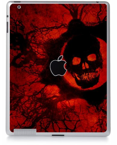 DARK SKULL Apple iPad 3 A1416 SKIN