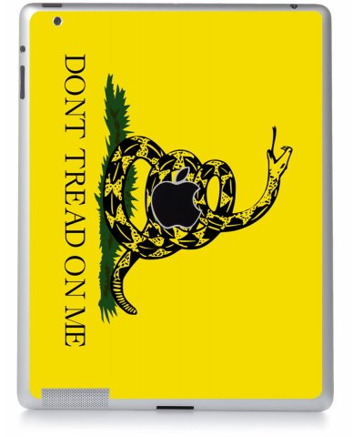 DON'T TREAD ON ME Apple iPad 4 A1458 SKIN