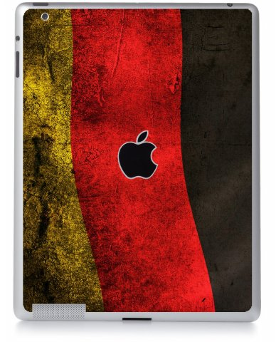 GERMAN FLAG Apple iPad 2 A1395 SKIN