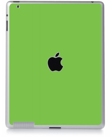 GREEN Apple iPad 2 A1395 SKIN